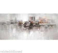Eurographics Inner Split Original Painting Framed Canvas 50X110