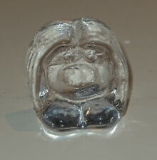 Little vintage 1970s Swedish Bergdala glass troll figurine