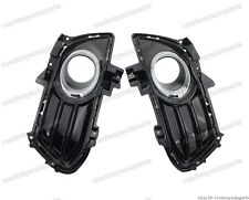 PAIR FRONT BUMPER FOG LIGHT LAMP BEZEL COVERS for Ford Fusion/Mondeo 2013-2016