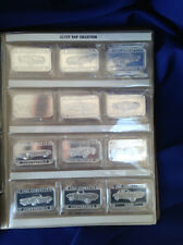 2001-2 SilverTowne Corvette Collection 1953-1972 Proof Silver Art Bars P2101