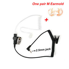 Tactical Police 2.5mm Earpiece Acoustic Tube Earphone for Radio Speaker Mic