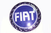 Fregio Logo Blu Stemma Fiat Anteriore Fiat Punto 188 Dal 2003 > Diametro 95m