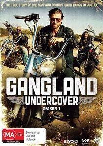 Gangland Undercover : Season 1 (DVD, 2017, 2-Disc Set) - Region 4