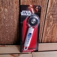 """Star Wars Pizza Cutter R2 - D2 21 cm 9"""" With Sound Effects When Cutting New"""