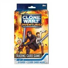 Topps Star Wars Tcg Clone Wars Adventures Starter Box
