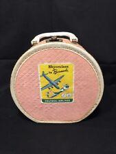 Worcester T&S Vintage Child's Suitcase - Doll Clothes - Hat Box