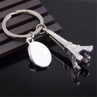 Alloy Eiffel Tower French Souvenir Paris Keychain Keyring Key Chain Ring