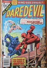 Daredevil #4 King Size Annual Marvel 1976 Comic Book : Black Panther