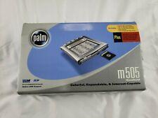 Palm m505 Color Handheld / Desktop Original Open Box New