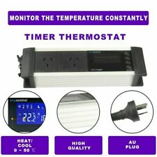 LCD Digital Reptile Snake Aquarium Day/Night Timer Thermostat Temp Controller