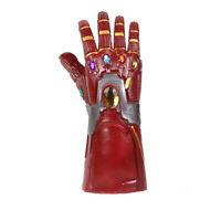 Iron Man Tony Stark Glove Avengers Endgame Infinity Red Gauntlet Cosplay Costume