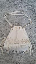 Damen Rucksack Handtasche Schultertasche Bag Fashion Blogger Weiß NEU !!