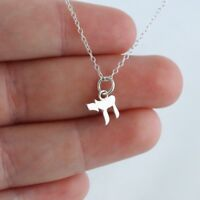 Tiny Chai Symbol Charm Necklace - 925 Sterling Silver Life Jewish Hebrew Gift