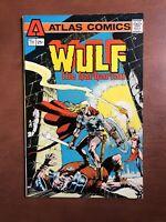 Wulf The Barbarian #1 (1975) 8.0 VF Atlas Key Issue Comic Bronze Age Marvel