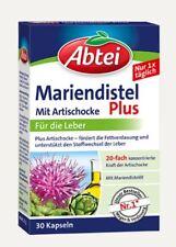 Abtei Mariendistel  Artischocke Plus Vitamin E für Leber Mariendistelöl 03718838