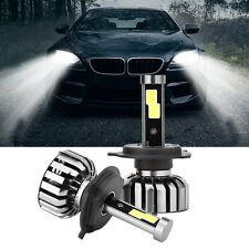 2Pcs H4 80W 8000LM LED Headlight Kit Light Hi/Lo Beam Bulb 6000K High Power
