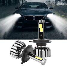2Pcs H4 80W 8000LM LED Headlight Kit Light Hi/Lo Beam Bulb 6000K High Power