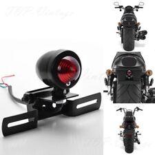 Motorcycle Bullet Rear Tail Stop Light Lamp For Harley Chopper Bobber Cafe Racer