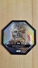REWE Star Wars Cosmic Shells Glitzer Chewbacca, Nr. 3