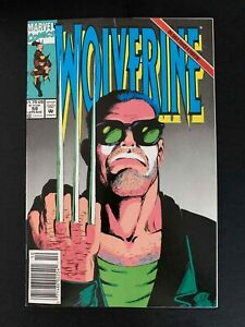 WOLVERINE #59  MARVEL COMICS 1992 VF+ NEWSSTAND