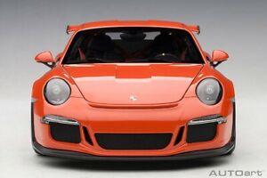 PORSCHE 911(991) GT3 RS (LAVA ORANGE/DARK GREY WHEELS)