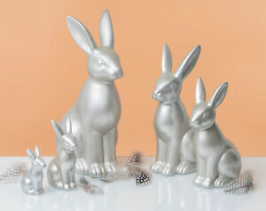 Fabriano - Hase Maurizio 25cm Champager/silber