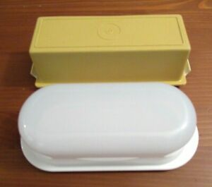 (2) TUPPERWARE 1 Stick Butter Dishes