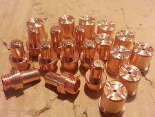 20 x C1402 Electrodes + C1396 Nozzles Fits CEBORA P70 CP-70 CB70 Torch *US SHIP*