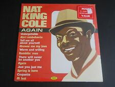 NAT KING COLE AGAIN NEW SEALED LP RECORD
