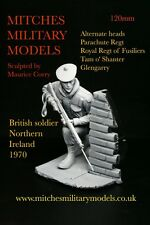 120mm 1/16 British soldier, Northern Ireland 1970, sculpted by Maurice Corry