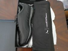NEW PORCHE DESIGN -RUNNING SHOES, BLACK, SIZE MEN  9, NEW , WITH BAG