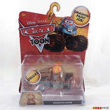 Disney Pixar Cars Toon Deluxe Beanie Hat Mater #27 diecast Mattel worn package