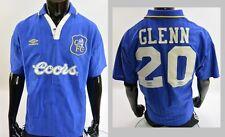 The Blues 1996-1997 UMBRO Chelsea FC Home Shirt Glenn Hoddle 20 SIZE L (adults)
