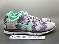 1376a8ac1499 Women s Nike Free TR Fit 3 Purple White Green Training Shoes 580406-070 sz  11