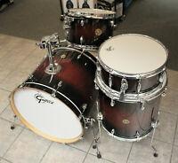 """Gretsch Catalina Maple CM1 4-Piece Shell Pack w/ 22"""" Bass Drum-Deep Cherry Burst"""