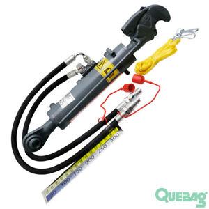 2 mit Fanghaken Hydraulischer Oberlenker Kat 2 Hydraulikschlauch//Hydraulisch#