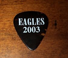 2003 Eagles Joe Walsh Tour Stage Issued Guitar Pick Tortoise Celluloid Authentic