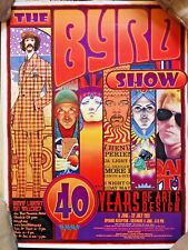 "David Edward Byrd 40 Years of Art & Design exhibition poster  18"" x 24""  Follies"