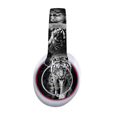 Skin for Beats by Dre Studio Wireless - White Tiger - Sticker Decal