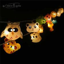 GaiaShine Paper Animals Lanterns String Fairy Night Lights Kid's Room Lamps AU