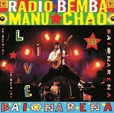 Manu Chao - Radio Bemba Baionarena LIVE, 3x VINYL LP + 2 CD Gatefold NEU + OVP