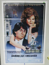 Original Vintage American Dreamer Movie Poster - Jobeth Williams - 1984