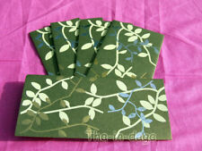Lot 5 Enveloppes 100% Papier Recycle Faire-Part Inde 49