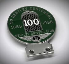 Bentley Drivers Club Badge Auto Plakette England Grill Emblem