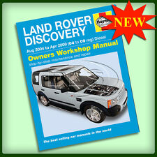 LAND ROVER DISCOVERY 3 Diesel - Haynes Workshop Manual`04 to`09 (DA4505)