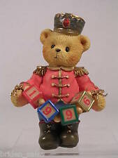Cherished Teddies 'Jeffrey' Striking Another Year Toy Soldier 1996 #176044 Nib