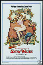 The new adventures of Snow White vintage movie poster