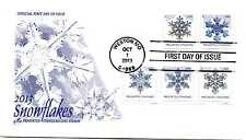 4808-12 Snowflakes, 2013, Presorted coil, PNS, plate number strip, ArtCraft FDC