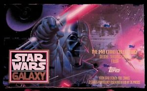 *Hot!!!* Star Wars Galaxy Series 1 Sealed Box from Topps