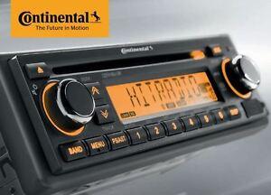 12 Volt PKW Auto Radio, RDS-Tuner, CD, MP3, WMA, USB 12V CD7416U-OR (CD7316U-OR)